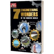 Literatura CLIL The 7 Engineering Wonders of the Modern World reader cu cross-platform APP
