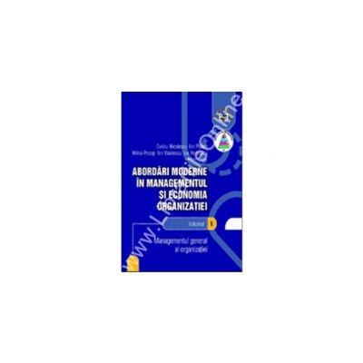 Abordari moderne in managementul si economia organizatiei (1+2+3+4)