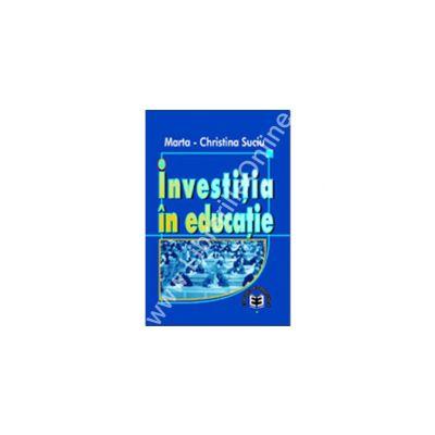 Investiţia în educaţie
