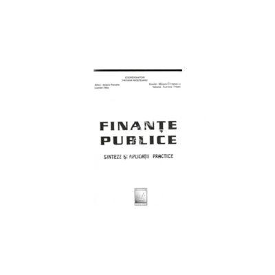 Finante Publice ( Sinteze Si Aplicatii Practice)