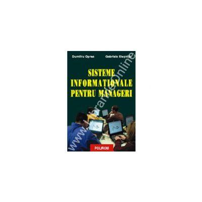 Sisteme informationale pentru manageri