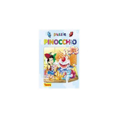 Seria Povesti cu puzzle : PINOCCHIO