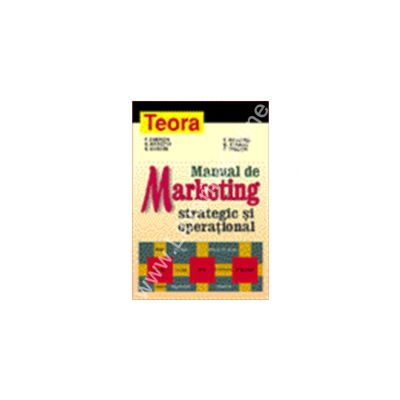 Manual de marketing strategic si operational
