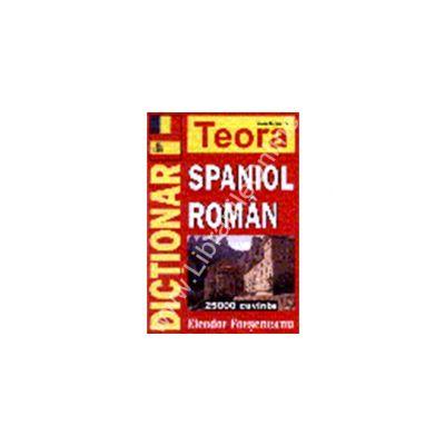 Dictionar spaniol-roman, 25000 cuvinte