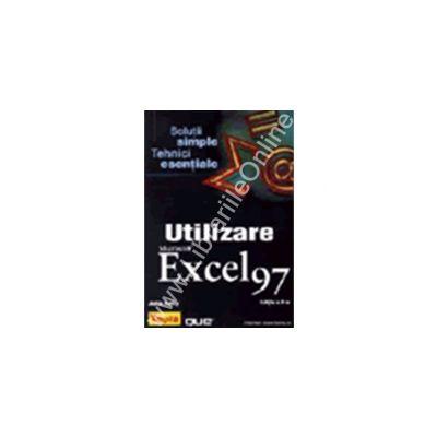 Utilizare Microsoft Excel 97