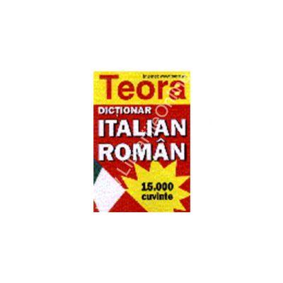 Dictionar italian - roman 15000 cuvinte