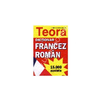Dictionar francez - roman 15000 cuvinte