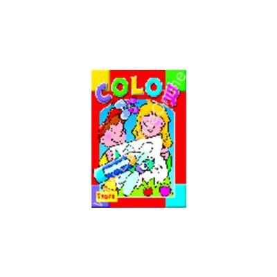 Seria COLOR Libelula - carte de colorat cu site Internet