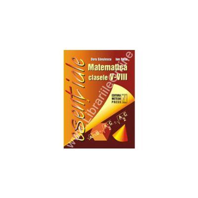 Matematică - formule utile pentru elevii claselor V-VIII