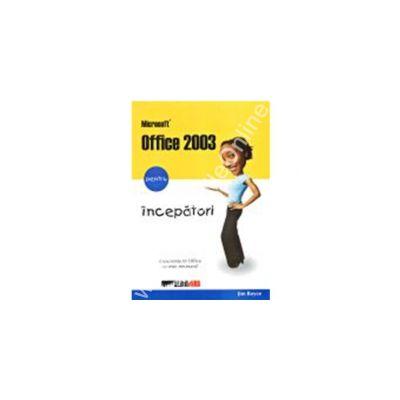 Microsoft office 2003 pentru incepatori