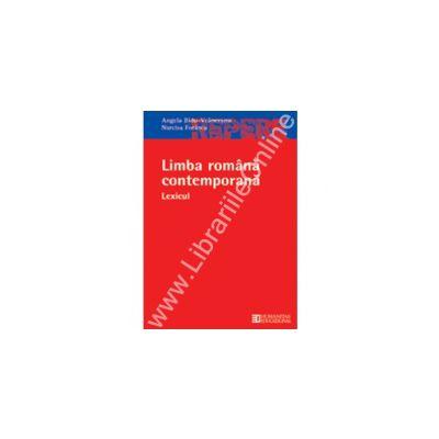 Limba romana contemporana. Lexicul