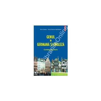 Genul in germana si engleza. Contextul germanic