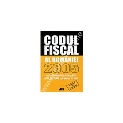 Codul fiscal 2005.Actualizat (editia a 2a)