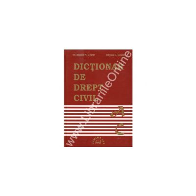 Dictionar de drept civil A-C