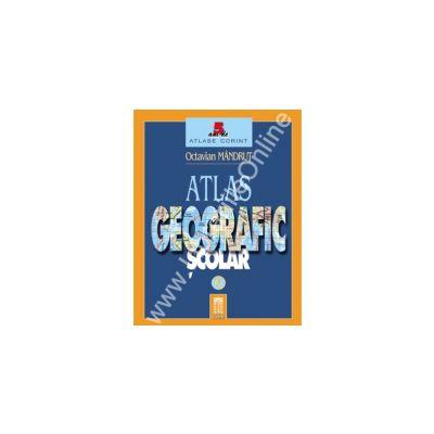Atlas geografic scolar (Editie cartonata)