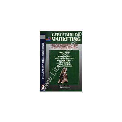 Cercetari de marketing