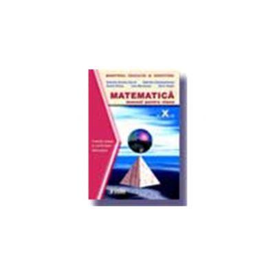 Matematica. Manual TC+CD (Cl. a X-a)