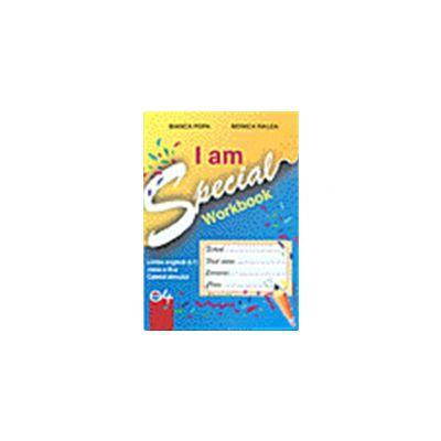Caietul de limba engleza III -'I am special'