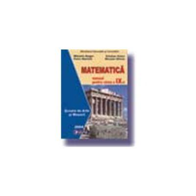 Matematica. Manual pentru Scoala de Arte si Meserii (Clasa a IX-a)