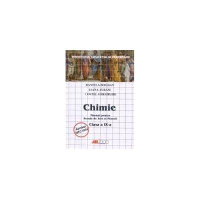 CHIMIE. MANUAL PENTRU SCOALA DE ARTE SI MESERII - CLASA a IX-a