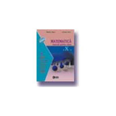 Matematica. Manual M3 pentru Liceu si Scoala de Arte si Meserii (Cl. a X-a)