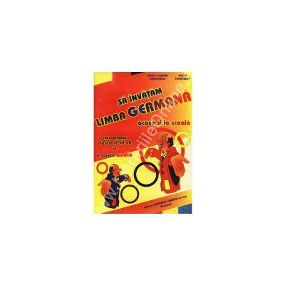 Sa invatam limba germana acasa si la scoala. Curs primar pentru clasele II, III, IV in 6 casete audio