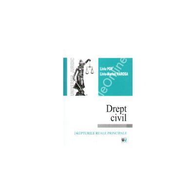 Drept civil. Drepturile reale principale