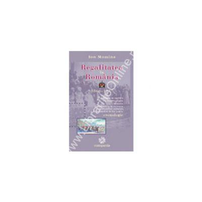 Regalitatea in Romania 1866-1947