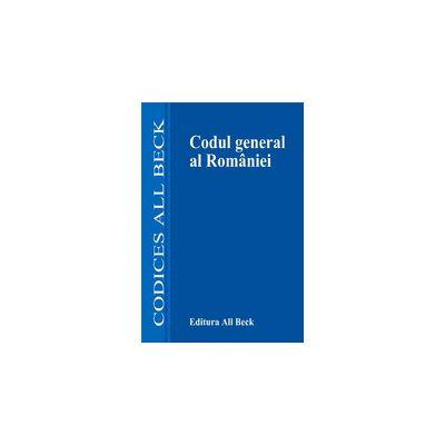 Codul general al Romaniei, editia a II-a