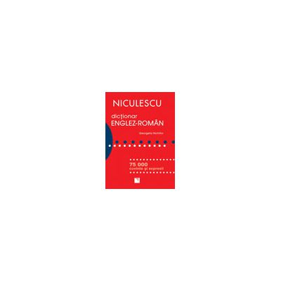 Dictionar englez - roman - 75.000 cuvinte si expresii