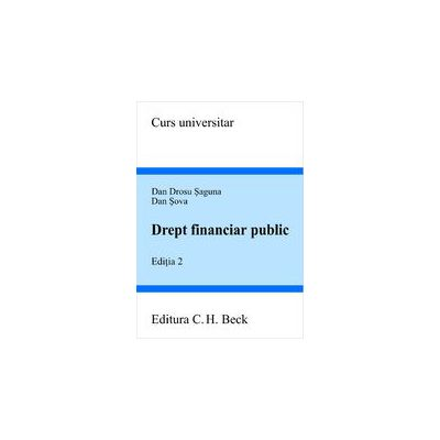 Drept financiar public, ed. a II-a
