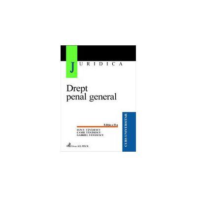 Drept penal general, editia a II-a