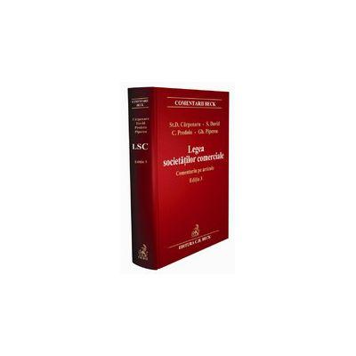 Legea societatilor comerciale, ed. a III-a