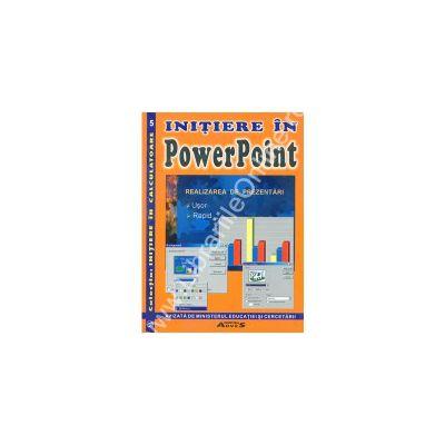 Initierea in PowerPoint