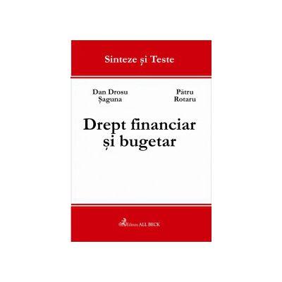 Drept financiar si bugetar