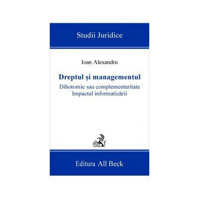 Dreptul si managementul
