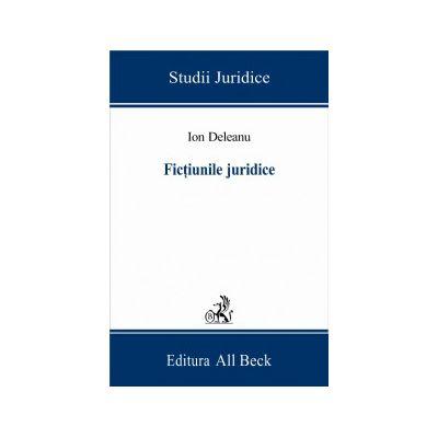 Fictiunile juridice