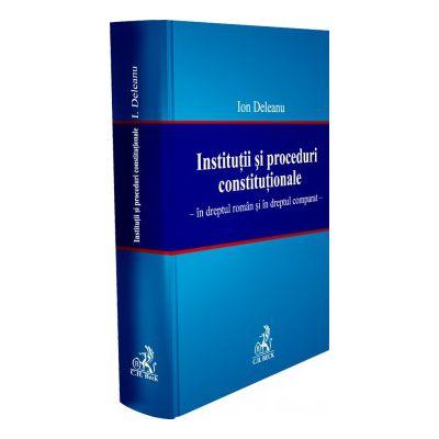Institutii si proceduri constitutionale