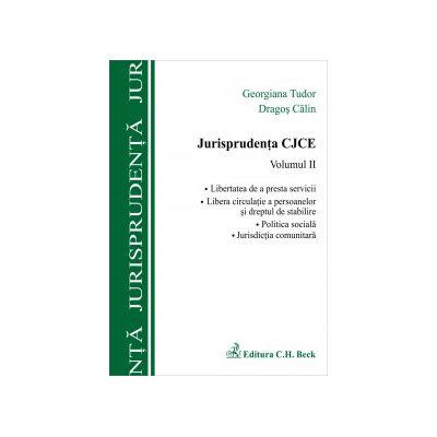 Jurisprudenta CJCE, vol. II