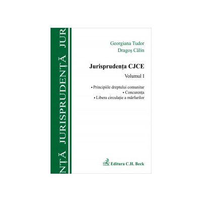 Jurisprudenta CJCE, volumul I