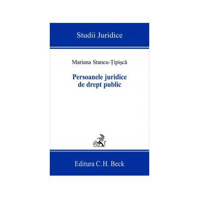Persoanele juridice de drept public