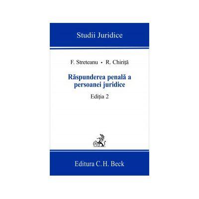 Raspunderea penala a persoanei juridice, ed. a II-a