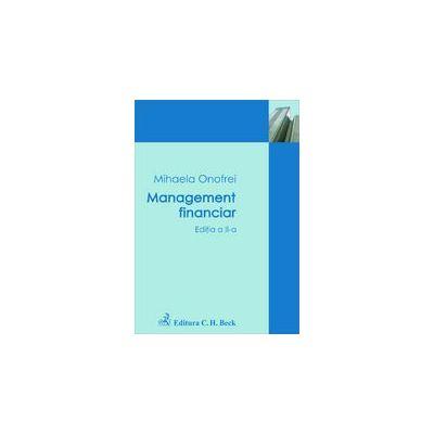 Management financiar. Editia 2