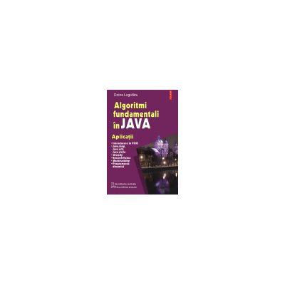 Algoritmi fundamentali in Java. Aplicatii