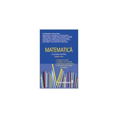 MATEMATICA - Culegere pentru clasa a VI-a