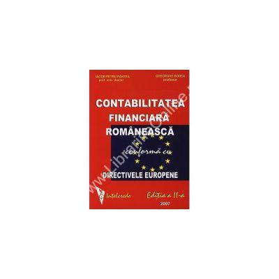 Contabilitatea financiara romaneasca conforma cu directivele europene