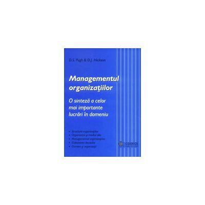 Managementul organizatiilor