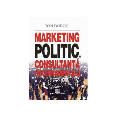 Marketing politic şi consultanţă guvernamentală