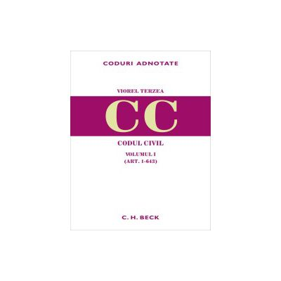 Codul civil. Volumul I (art. 1-643)