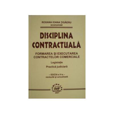 Disciplina contractuala